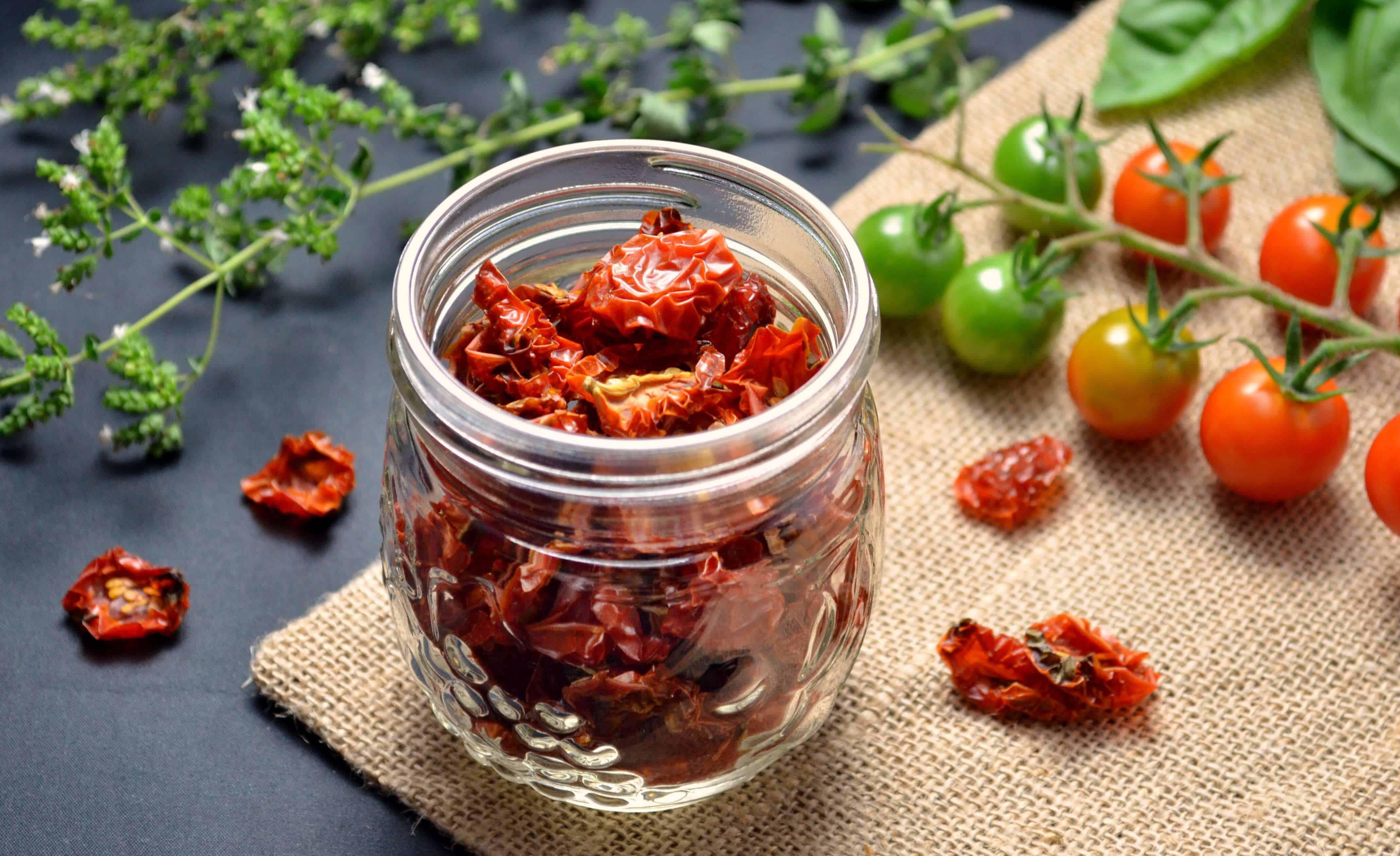 DIY Sun-Dried Tomatoes