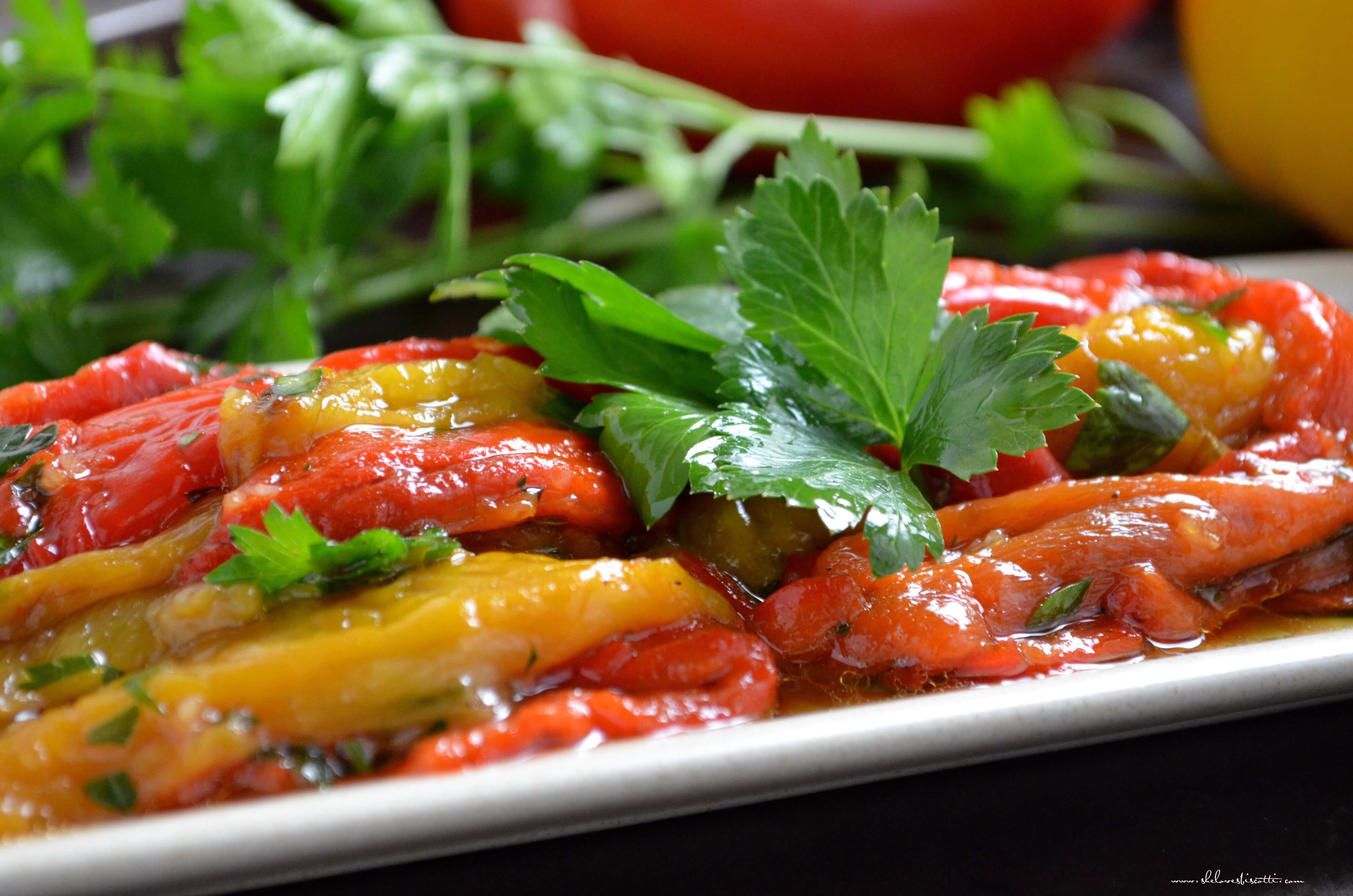 ... bell peppers marinated roasted red bell peppers recipe key ingredient