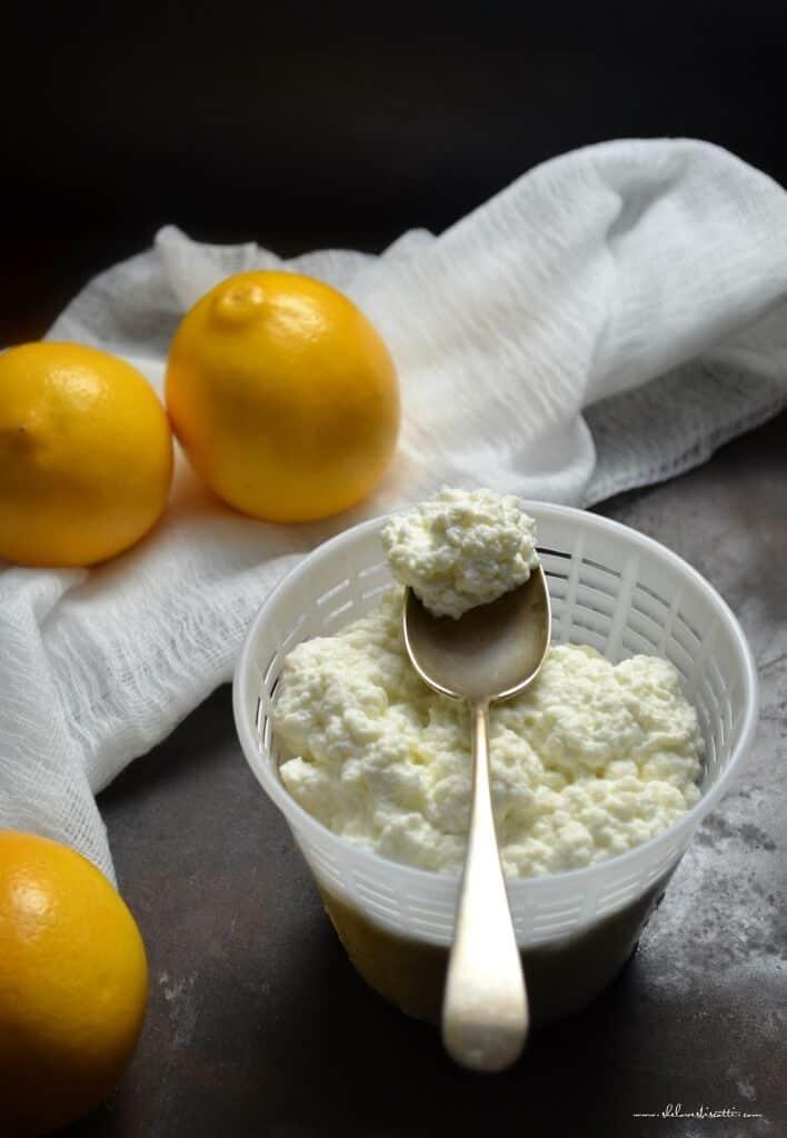 Creamy Homemade Fresh Ricotta Cheese
