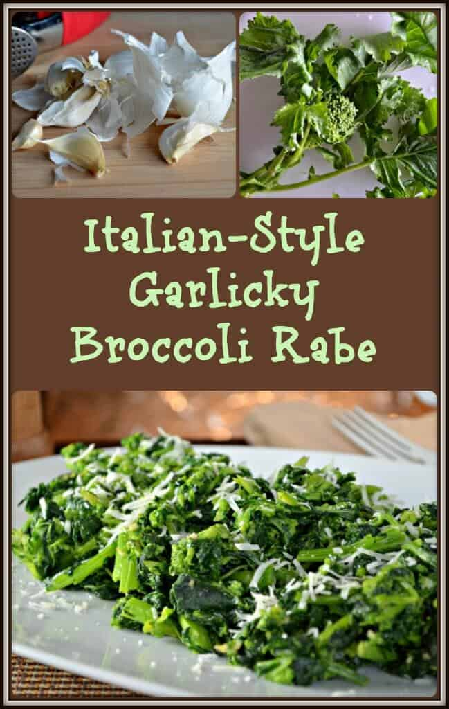 Italian-Style Garlicky Broccoli Rabe