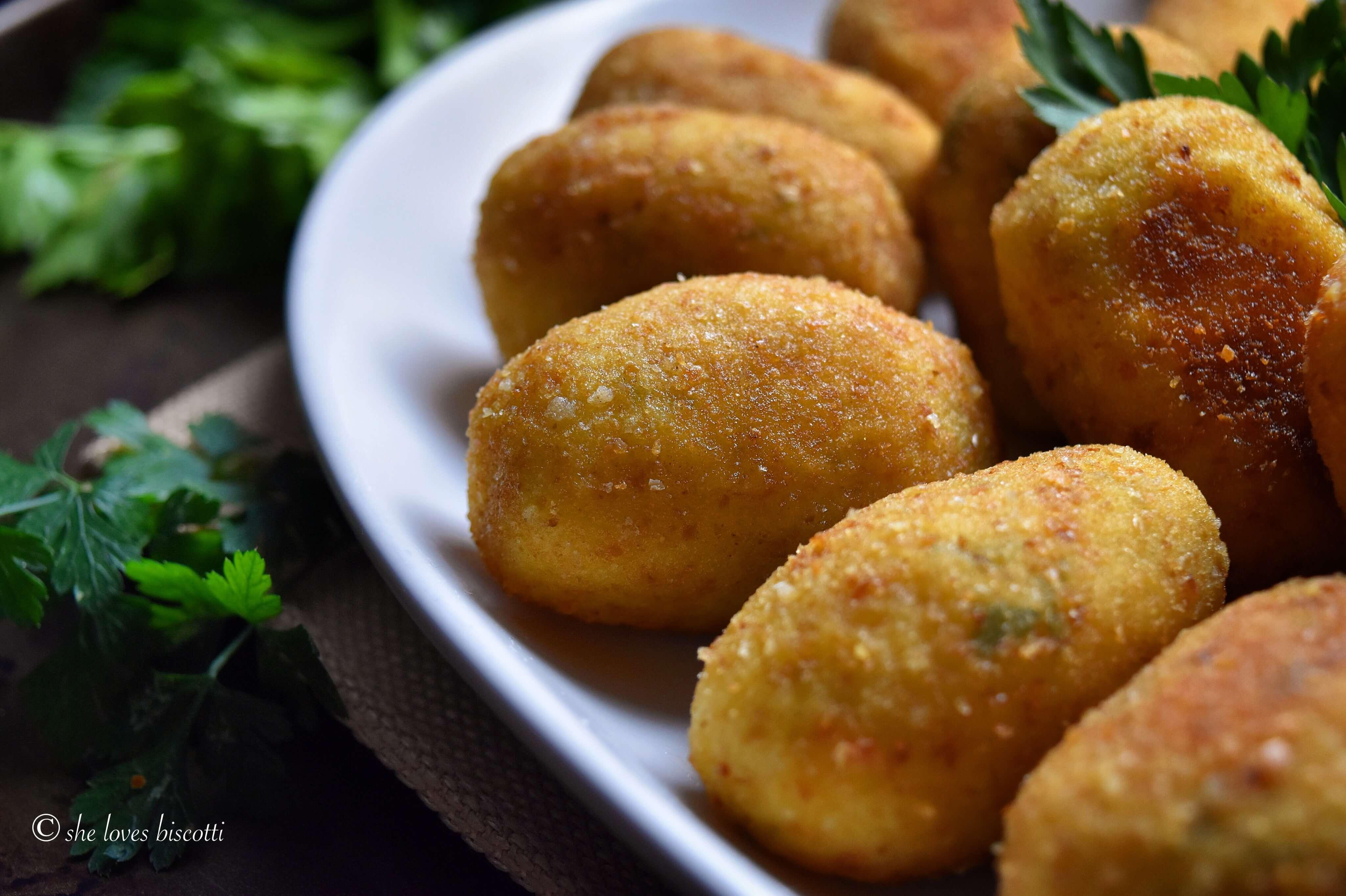 Best Homemade Italian Potato Croquettes - She loves biscotti