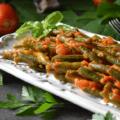 Italian Style Stewed Tomato Green Beans