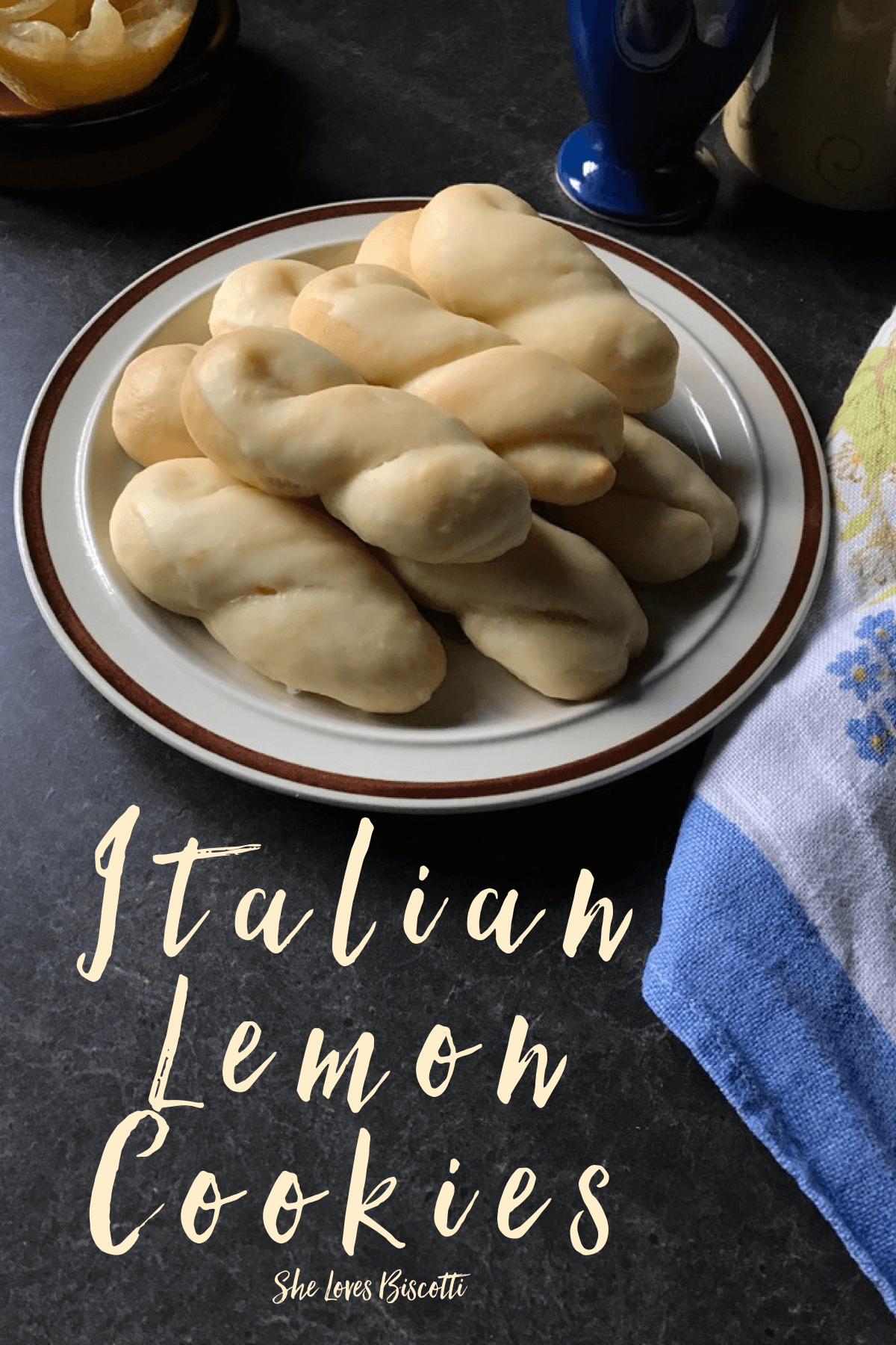 Another Simple Italian Lemon Cookie Recipe