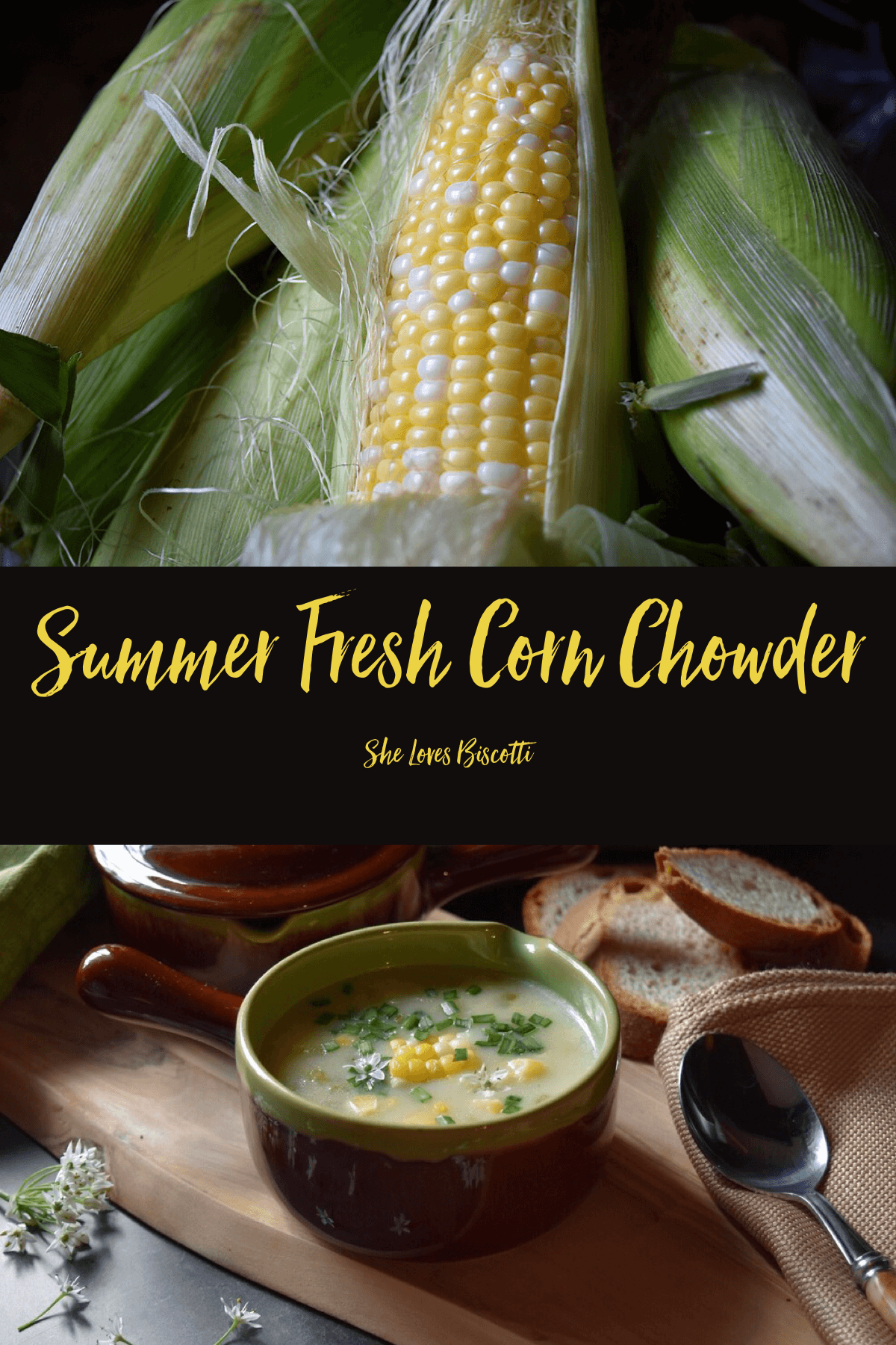 Summer Fresh Corn Potato Chowder