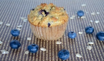 Healthy Blueberry Oat Muffins -simply the BEST!