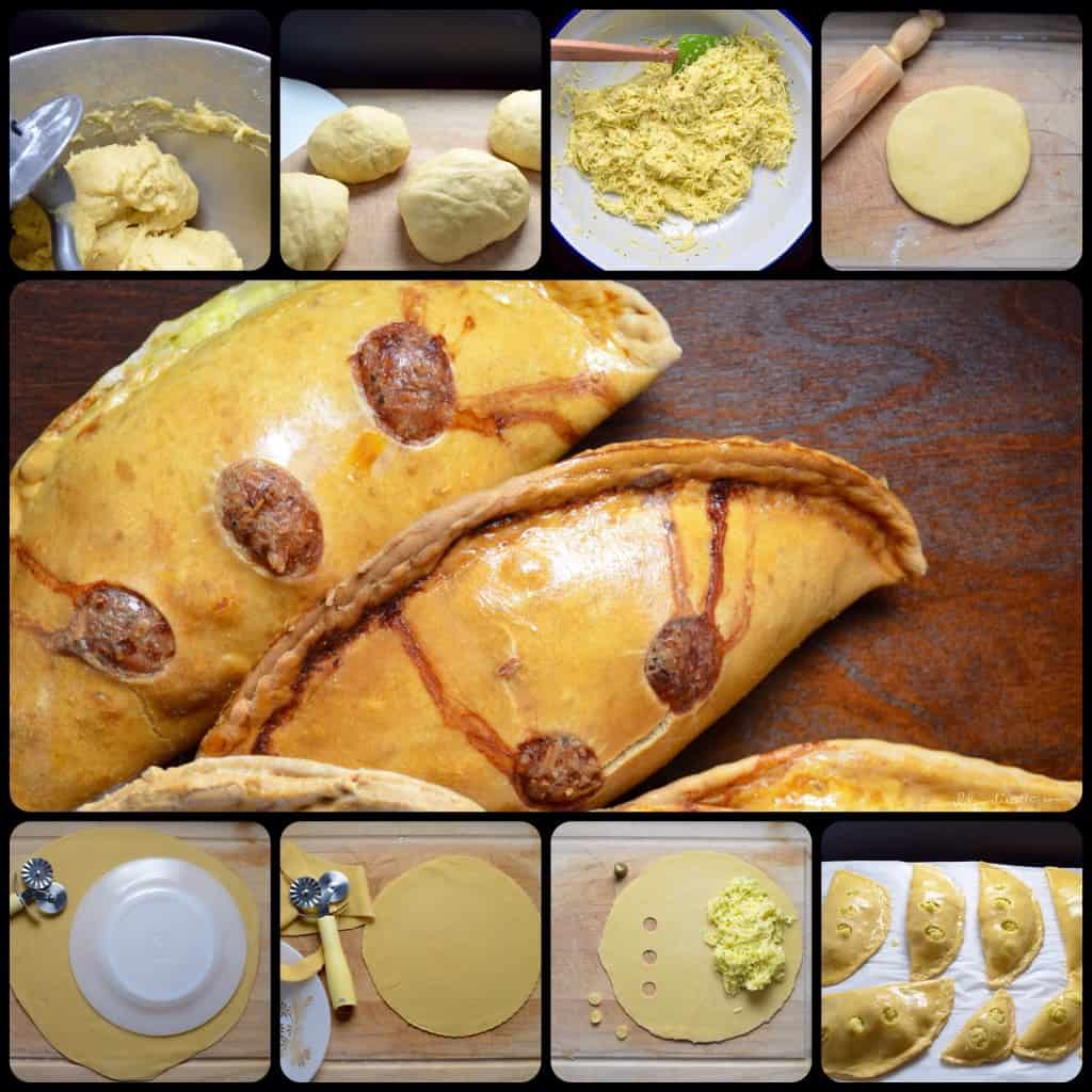 Italian Savoury Easter Cheese Pie