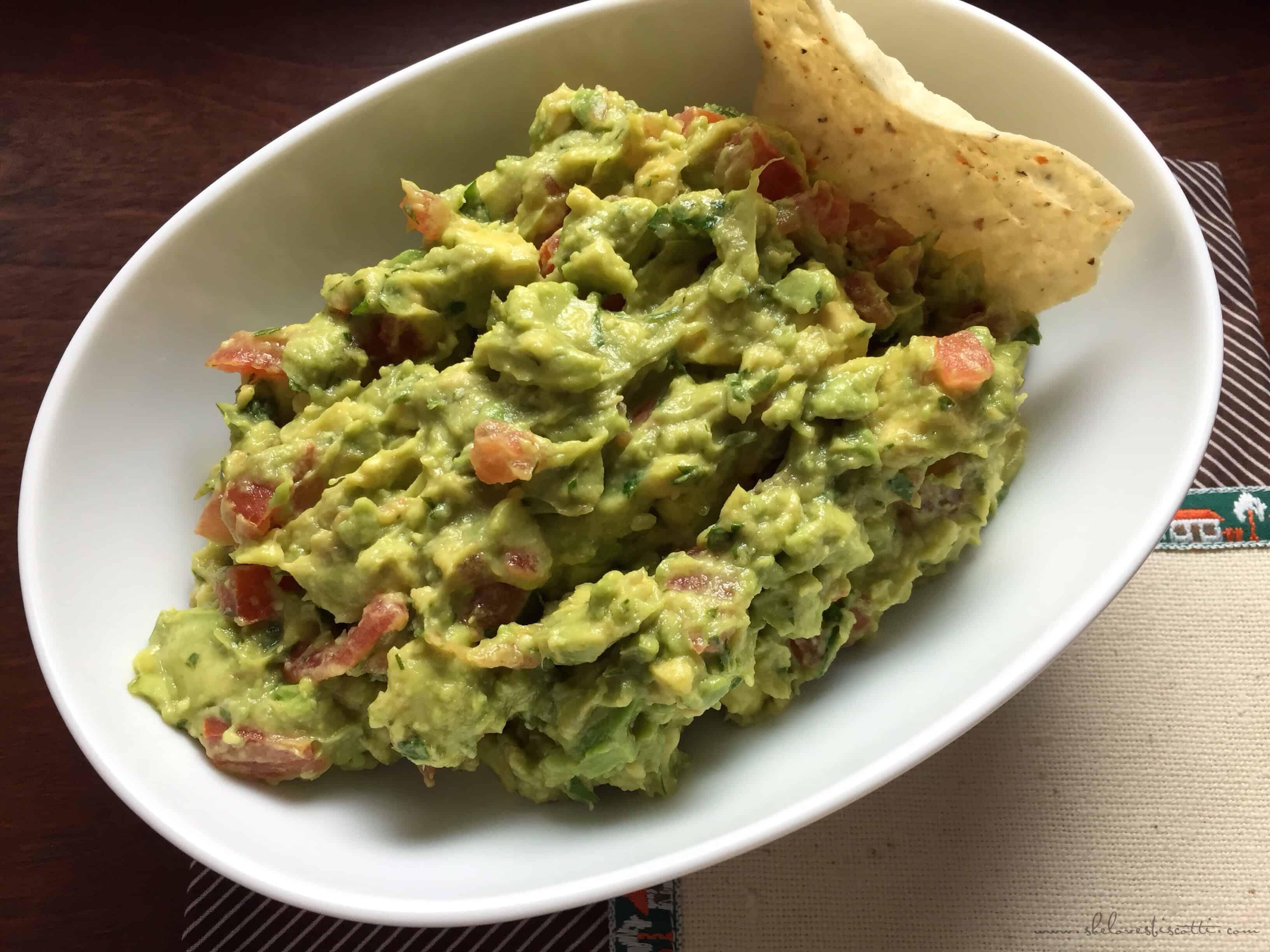 Perfect Chunky Guacamole Recipe