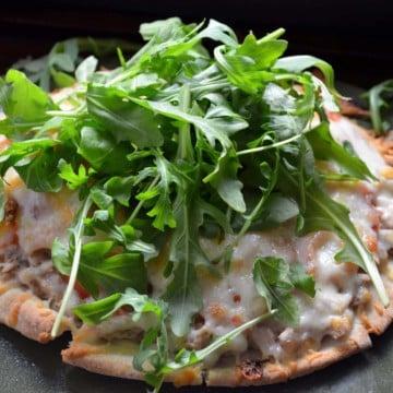 Italian Tuna Pita Melts