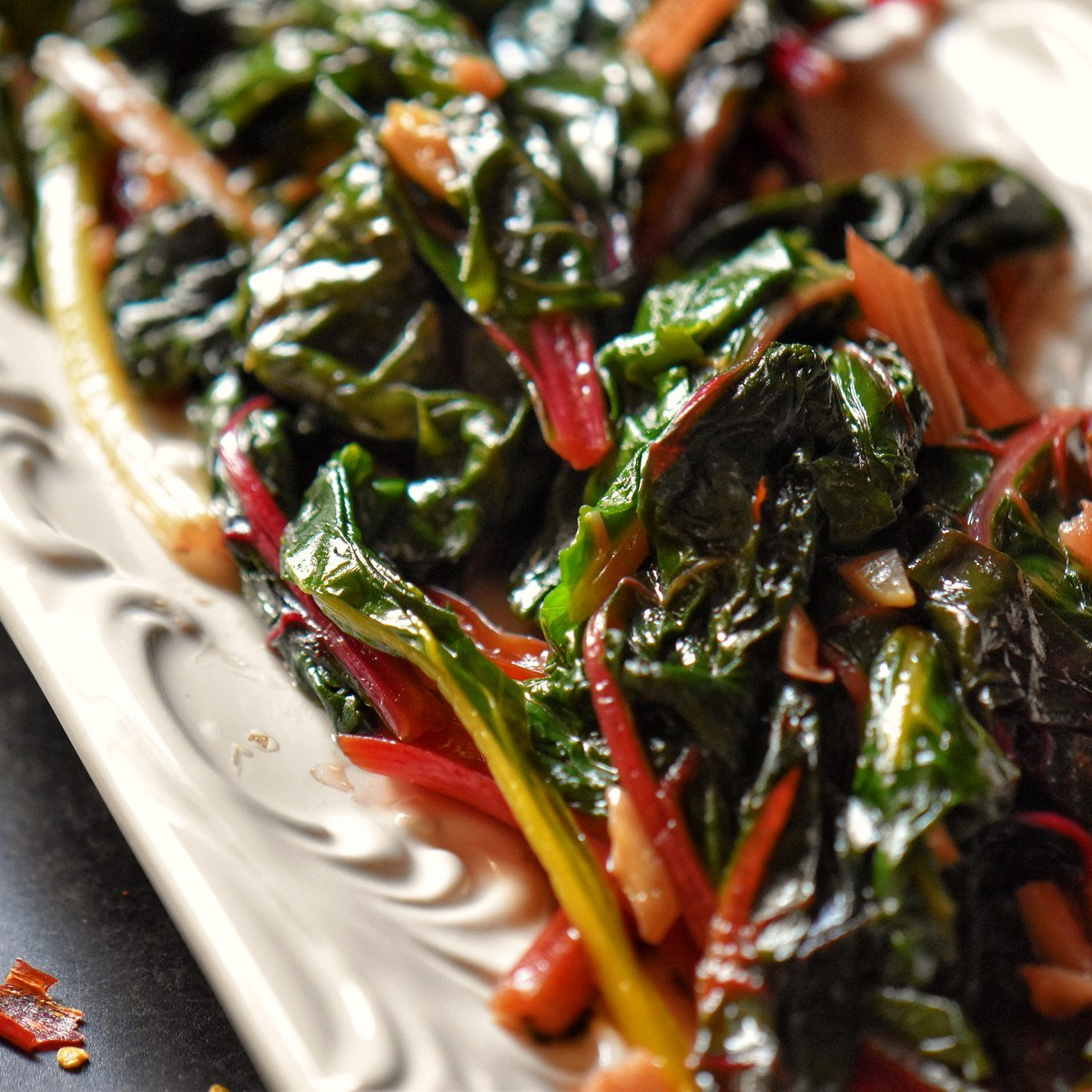 Sauteed Swiss Chard Recipe Italian Style She Loves Biscotti