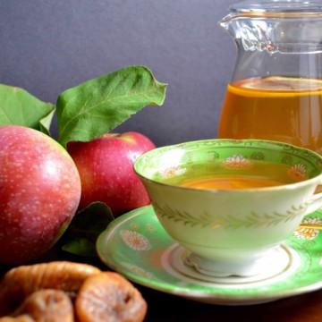 apple fig herbal tea