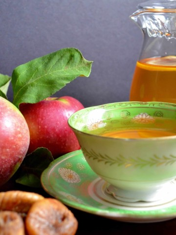 apple fig herbal tea