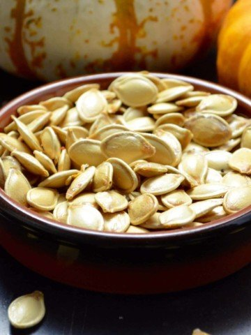 Slow Roasted Pumpkin Seeds