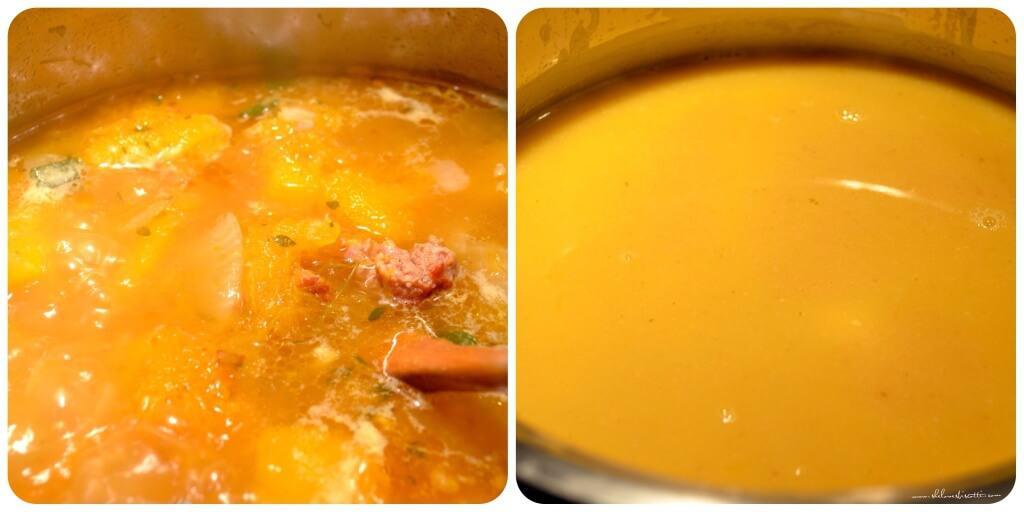 Creamy Italian Sausage Squash Soup