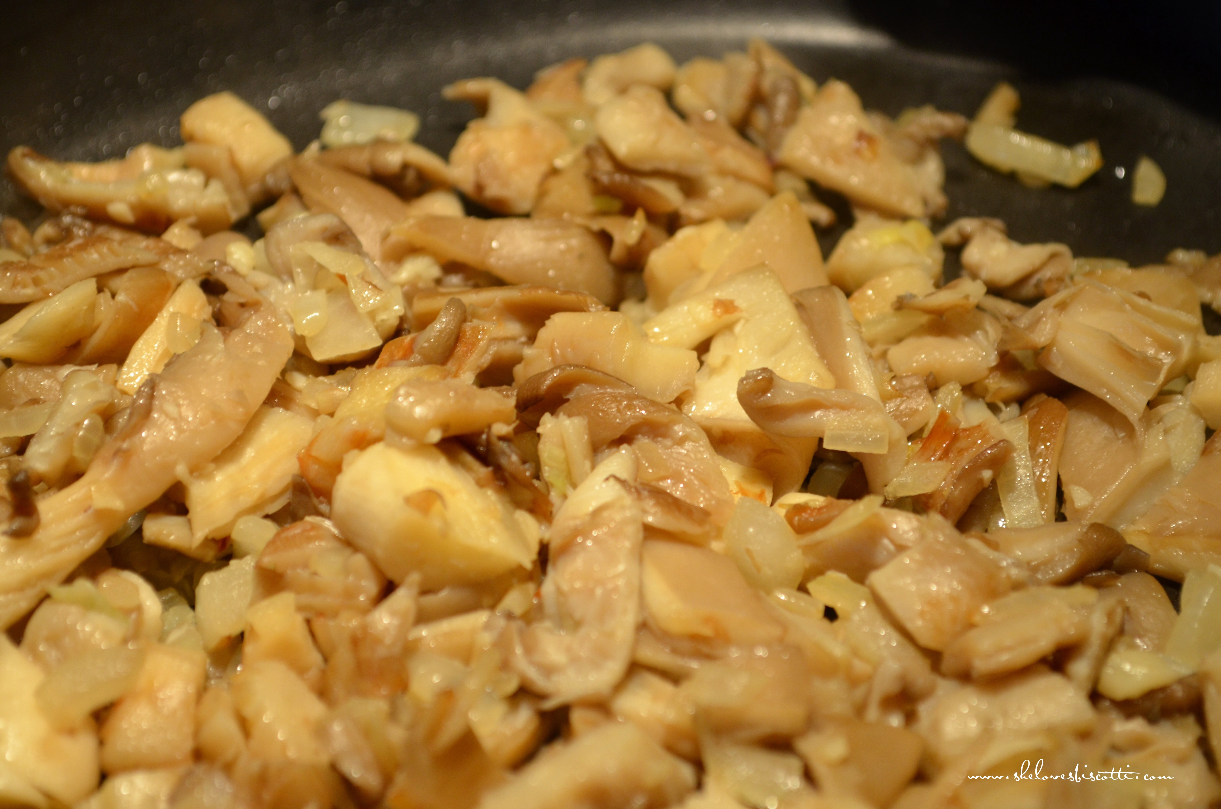 Simple Basic Mushroom Risotto