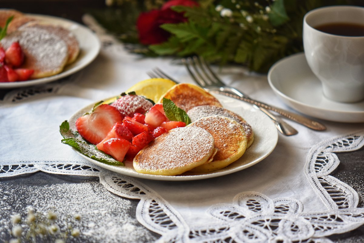 Easy Lemon Ricotta Pancakes from scratch