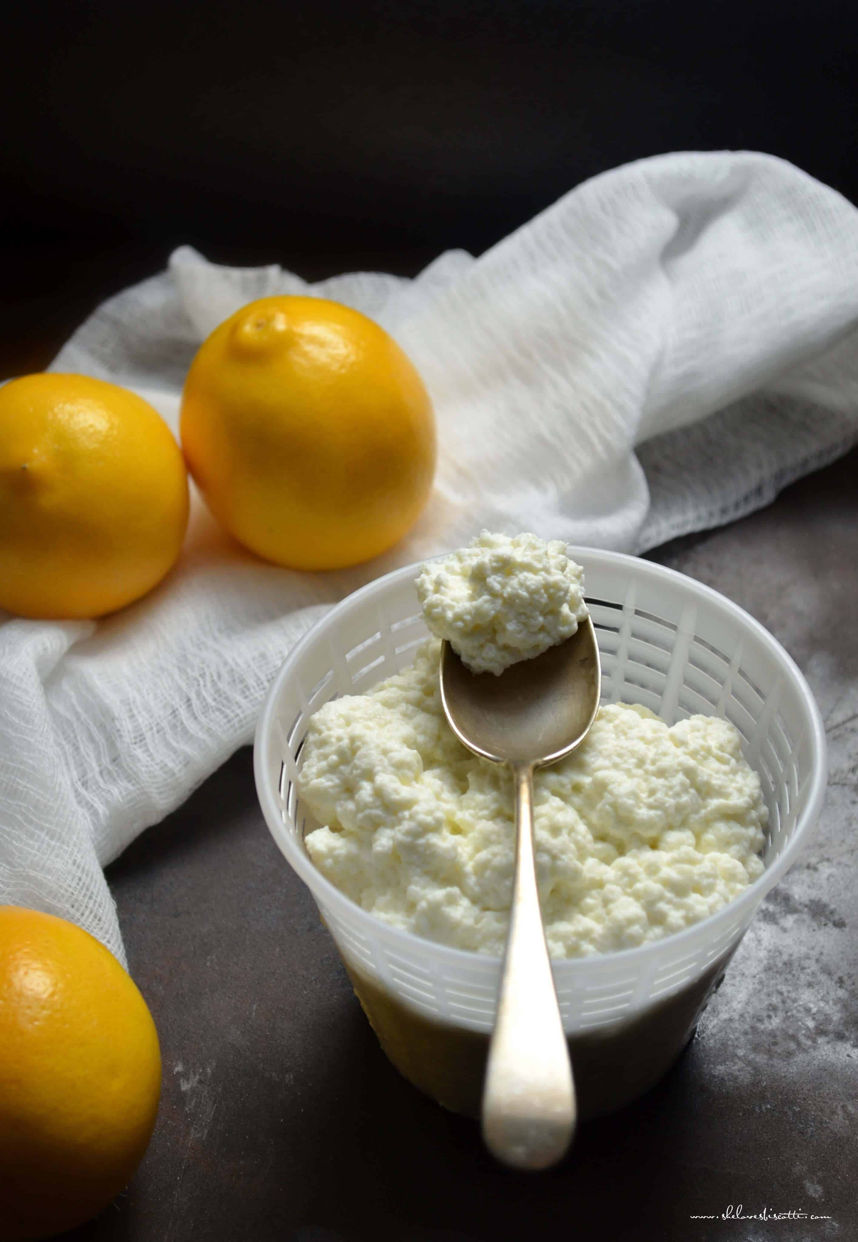 Homemade Ricotta Cheese: Only 3
