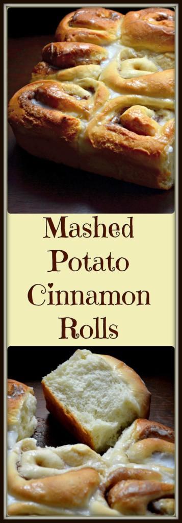 Easy Mashed Potato Cinnamon Rolls