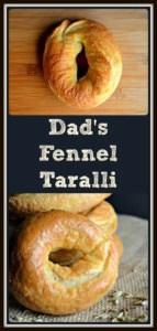 Dad's Favorite Fennel Taralli