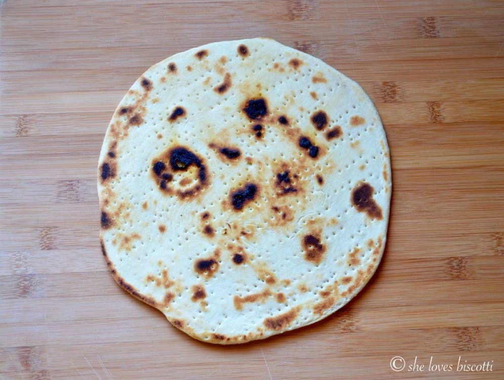 The flatbread piadina.