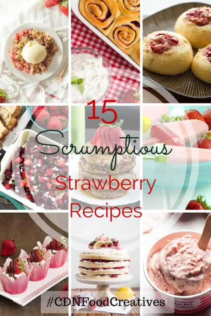 Simple Macerated Strawberries