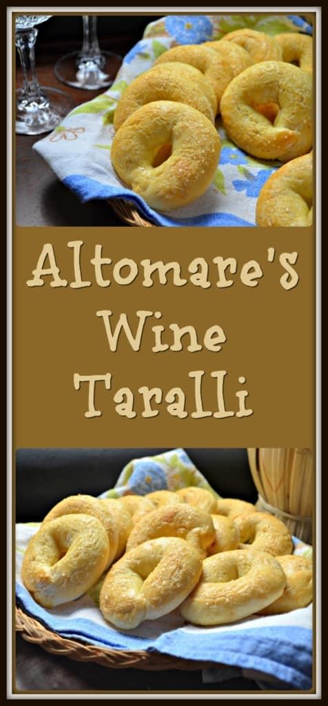 Altomare's Wine Taralli