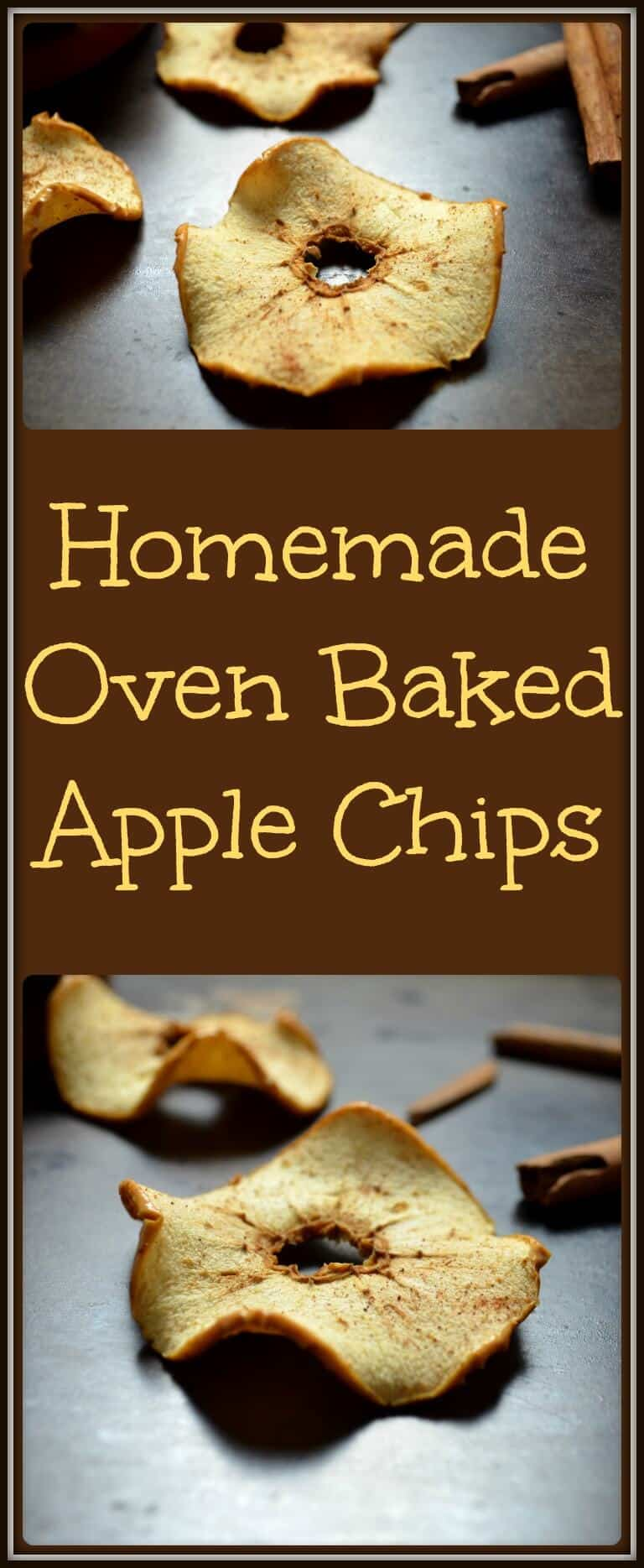 Homemade Oven Baked Apple Chips