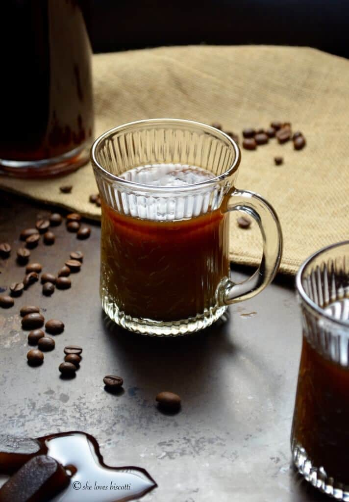Ice Cold Brewed Espresso Coffee Recipe