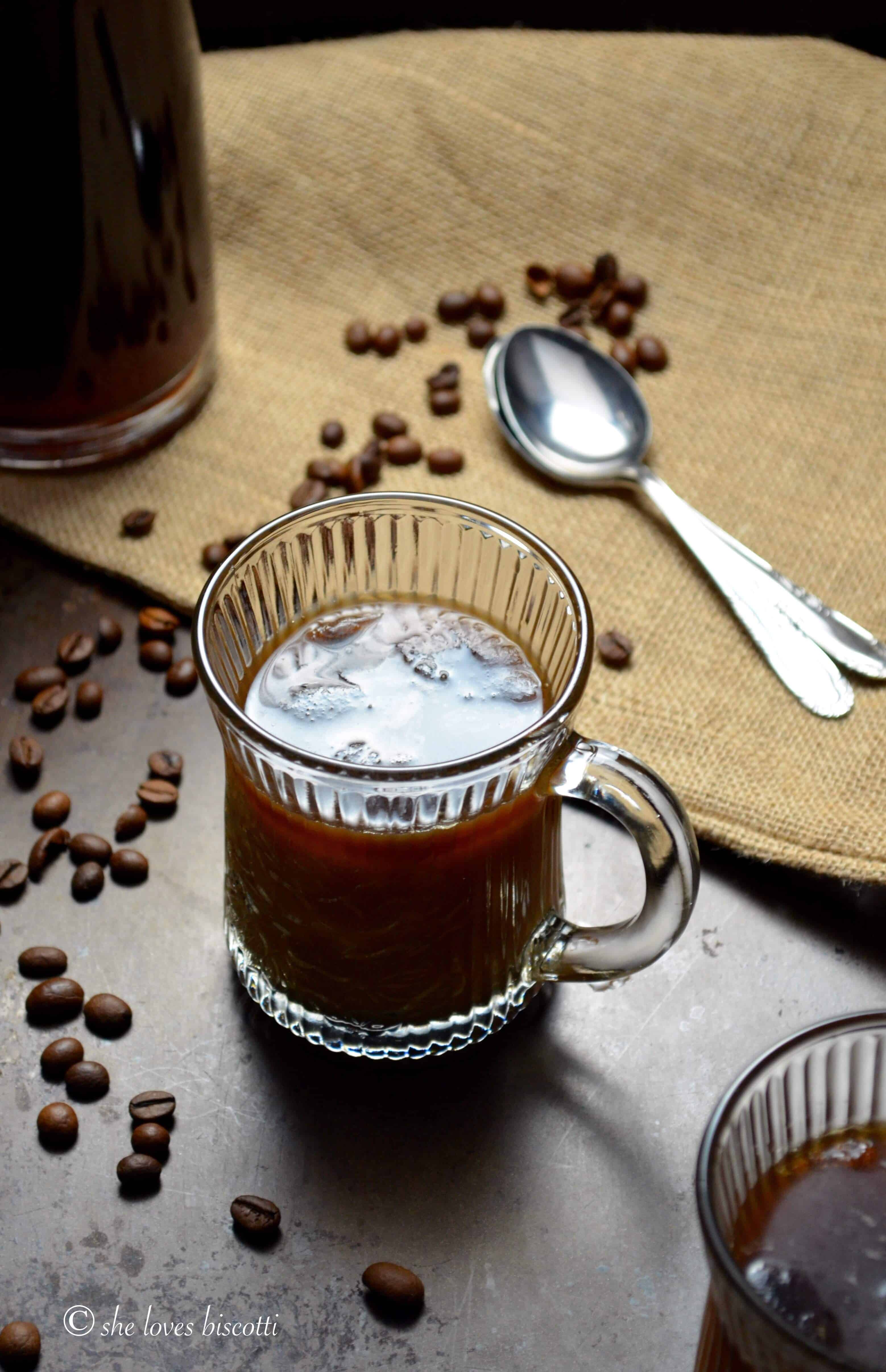 Ice Cold Brewed Espresso Coffee Recipe