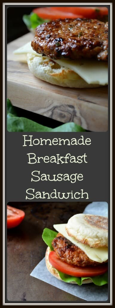 Homemade Breakfast Sausage Recipe + Book Review