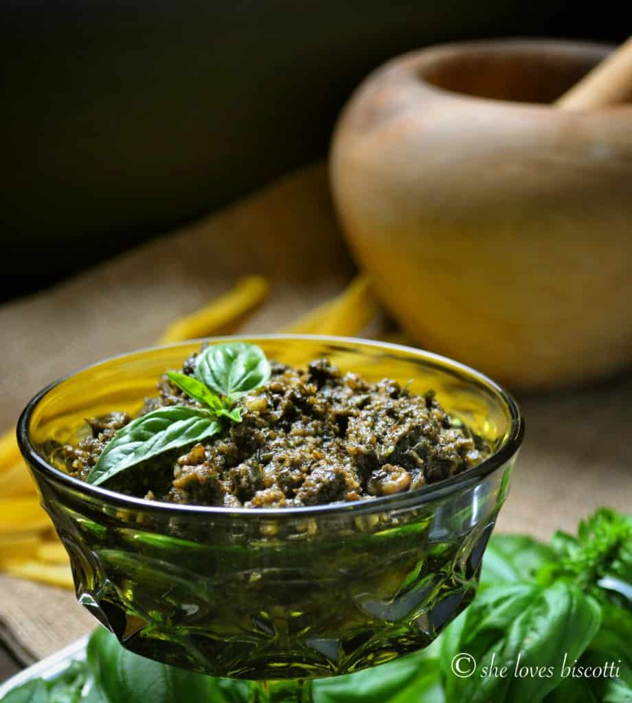 Traditional Basil Pesto