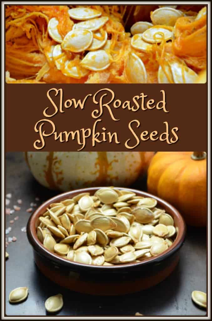 Slow Roasted Pumpkin Seeds