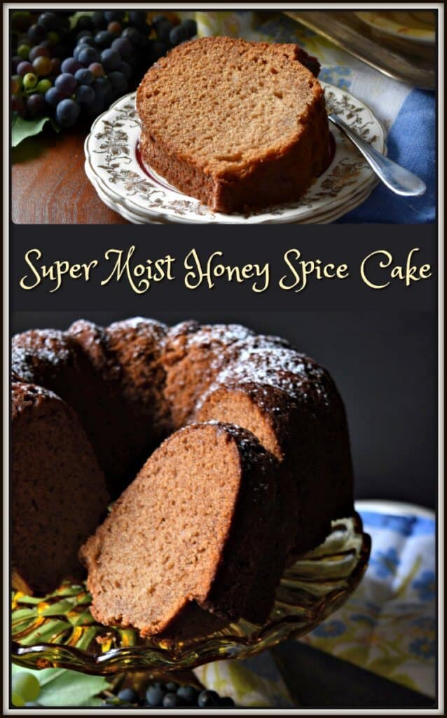 Super Moist Honey Spice Cake Recipe