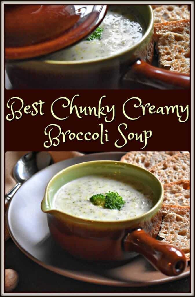 Best Chunky Creamy Broccoli Soup
