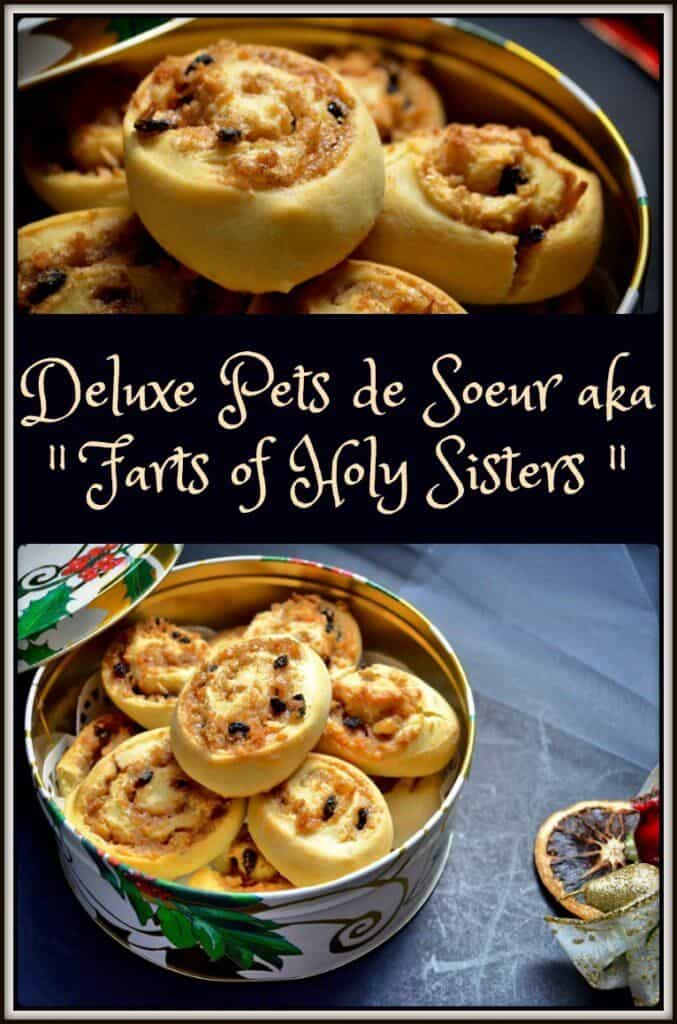 Deluxe Pets de Soeur Recipe || nun's farts cookie || Christmas and holiday baking #nunsfarts #pastrypinwheels #petsdesoeur #recettesduqc