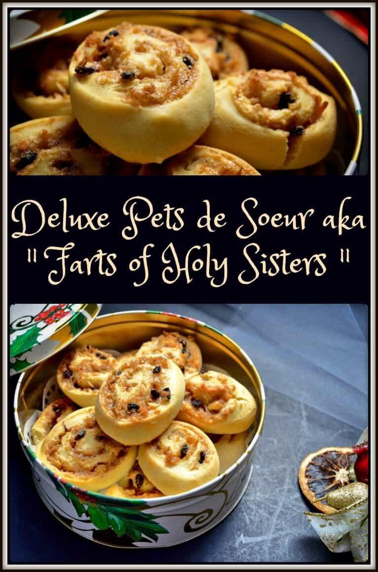 Deluxe Pets de Soeur Recipe || nun's farts cookie || Christmas and holiday baking #nunsfarts #pastrypinwheels #petsdesoeur #recettesduqc
