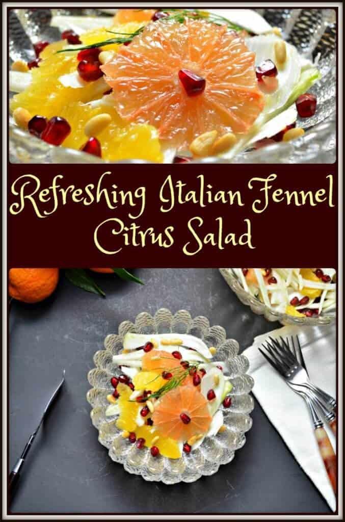 Refreshing Italian Fennel Citrus Salad