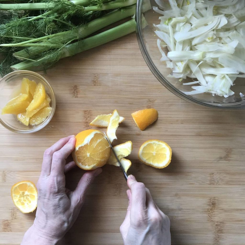 Refreshing Italian Fennel Citrus Salad