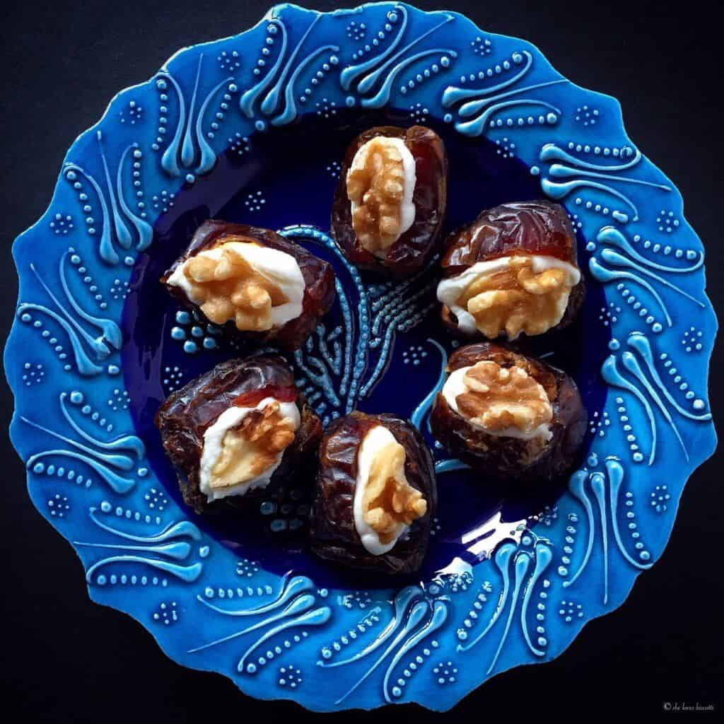Ricotta Stuffed Medjool Dates