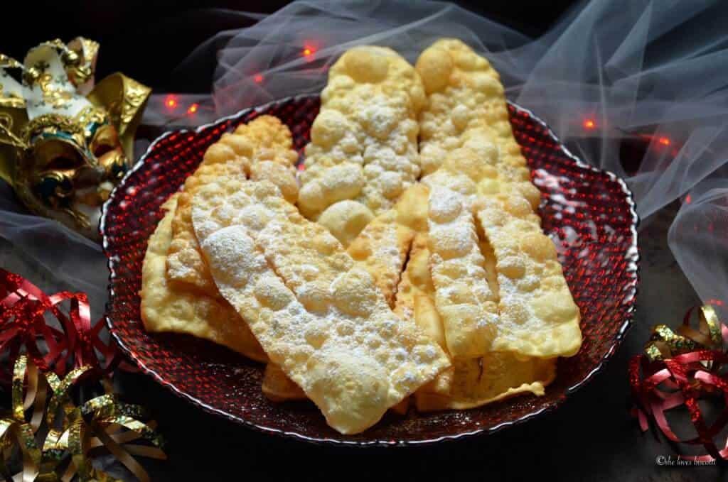 Crispy Italian Carnival Fritters aka Chiacchiere