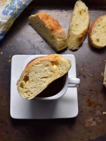 Easy White Chocolate Chunk Yeast Bread