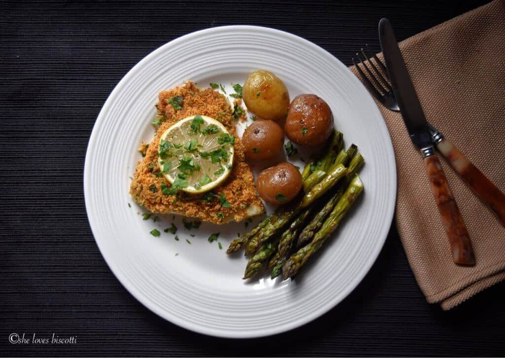 oven baked cod simple oven baked garlic oregano crusted cod fish she 12554