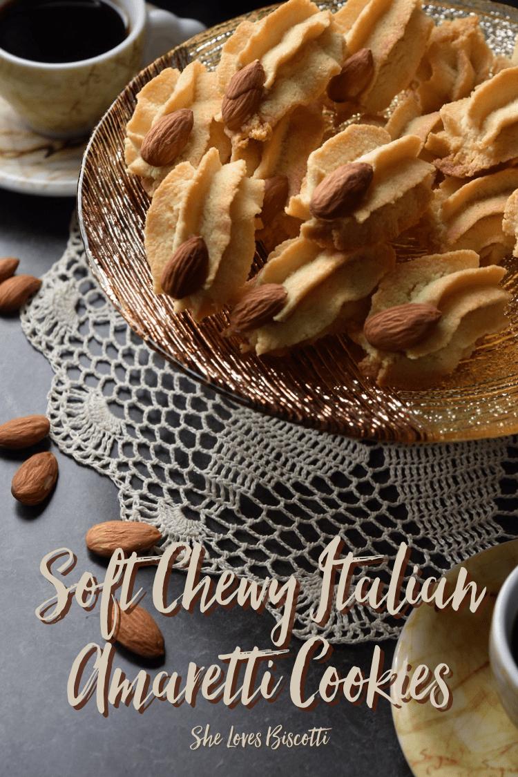 Big Batch Soft Chewy Classic Italian Amaretti Cookies