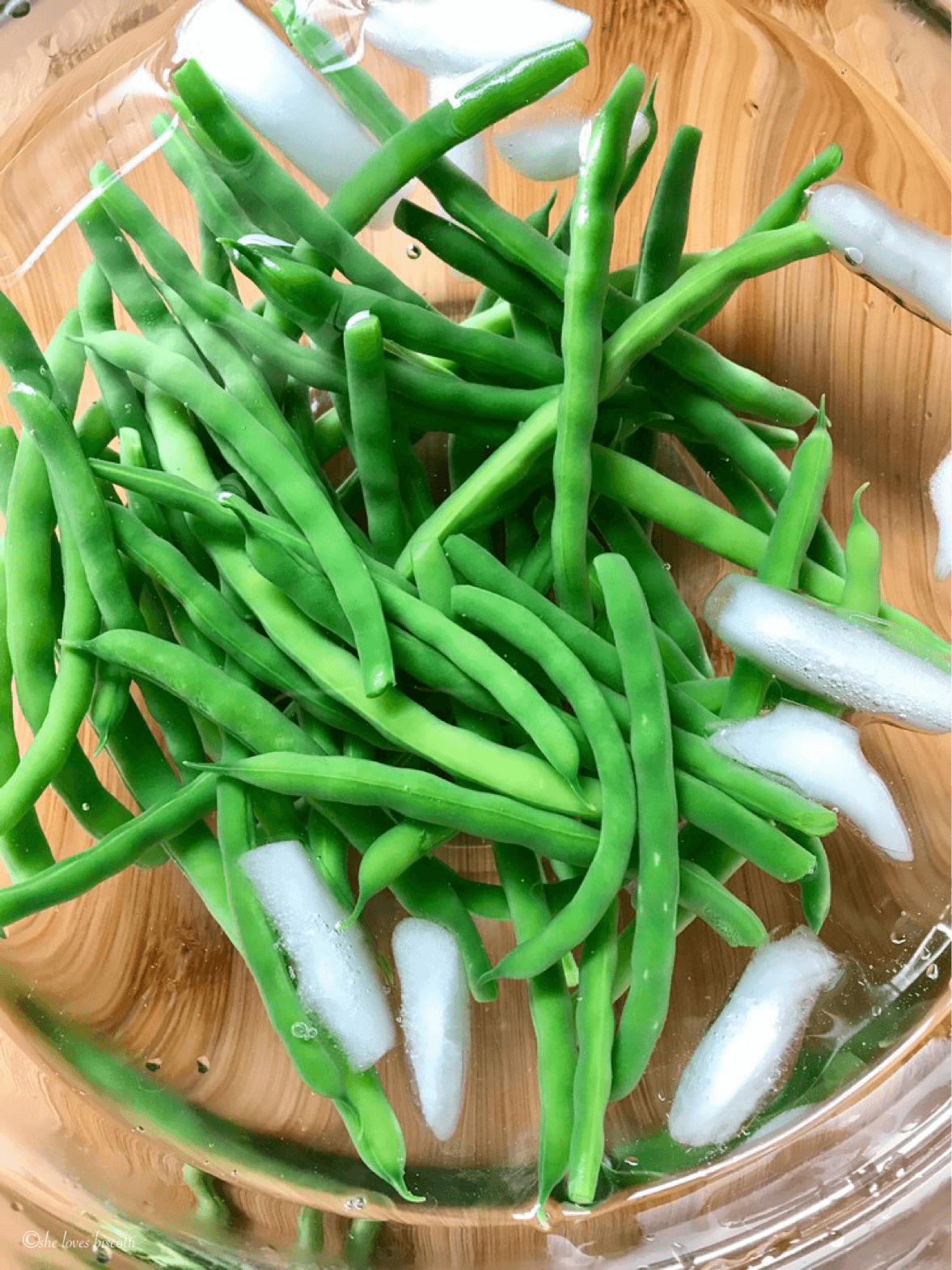 How to Freeze Green Beans - She Loves Biscotti