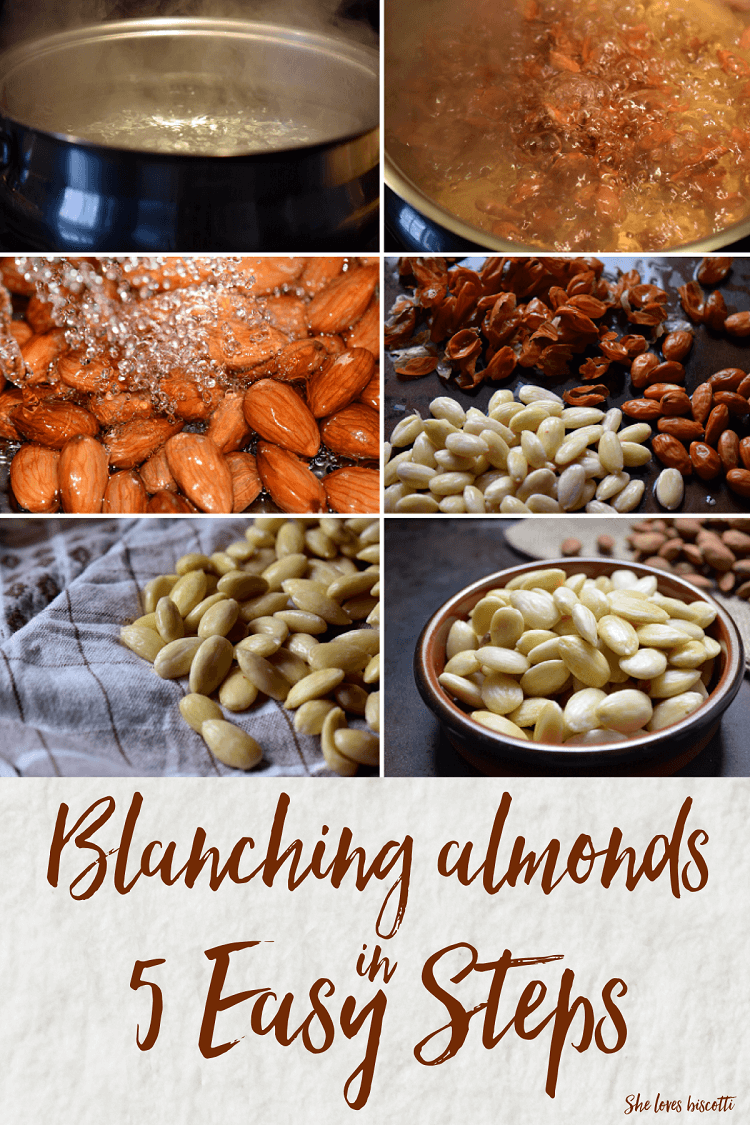 Blanching Almonds in 5 Easy Steps || vegan || paleo || glutenfree || #almonds #doityourself #diy #howto #gf