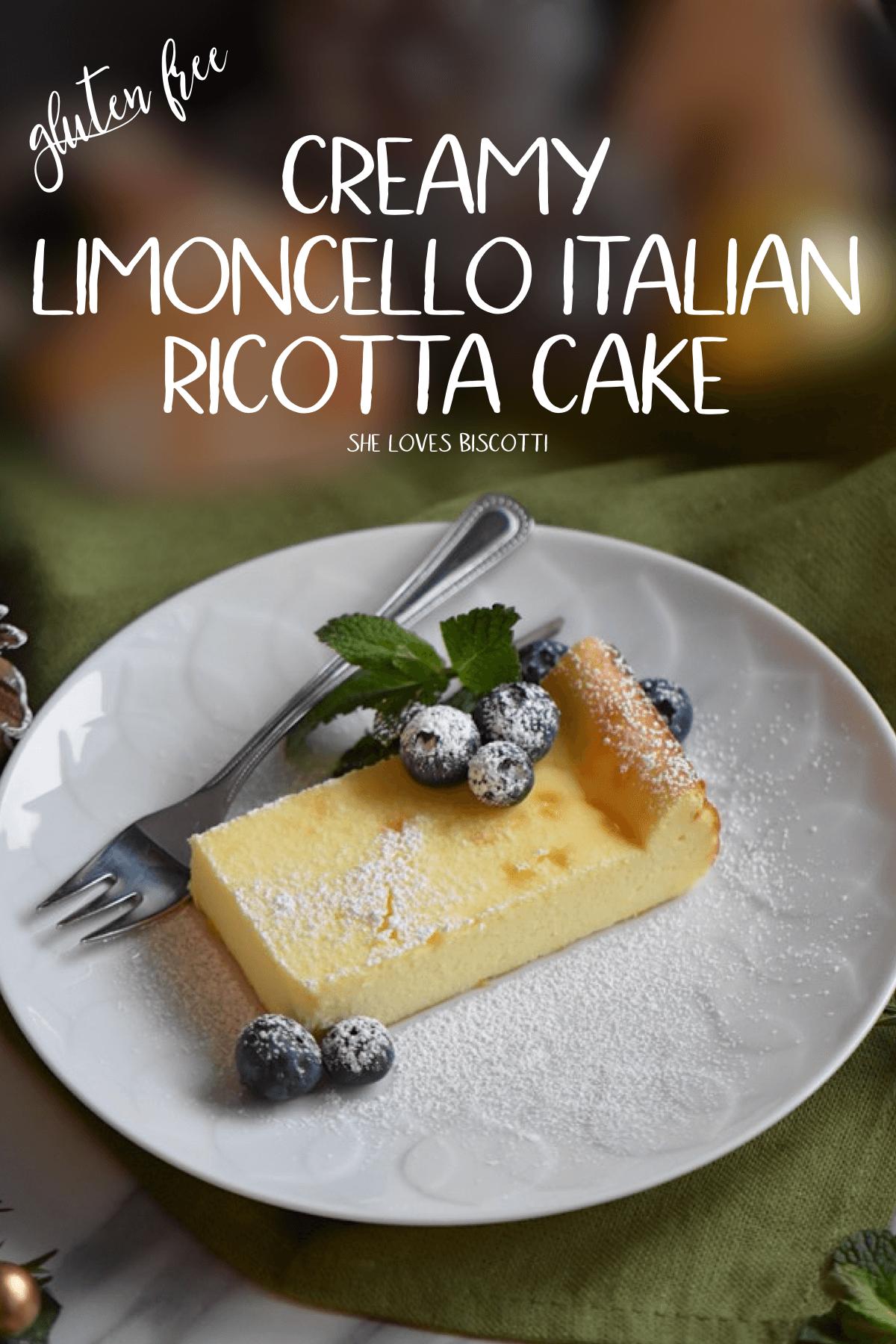 Creamy Limoncello Italian Ricotta Cake Recipe    Easy Italian Cake Recipe    Simple Italian Ricotta Cake #ricottacake #limoncello #Italianricottacake #Italiancake #ricotta #CreamyItaliancake #glutenfreecake #flourlesscake