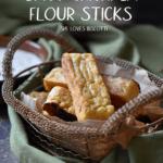 A nice basket of Spicy Gluten free Vegan Chickpea Flour Sticks.