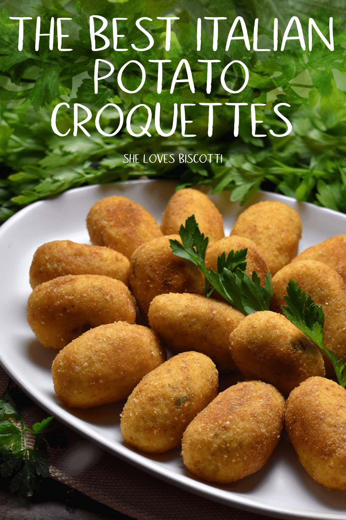 Best Homemade Italian Potato Croquettes || side dish || simple and easy side || Italian appetizer recipe || #croquette #croquettes #mashedpotatorecipe #thanksgiving #holidayside #Christmas
