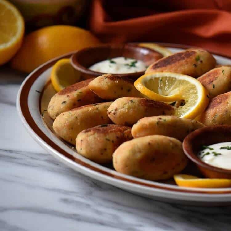 Dish Salmon Croquettes: Salmon Croquettes Recipe