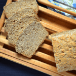 Slices of the Quick Whole Wheat Honey Bread