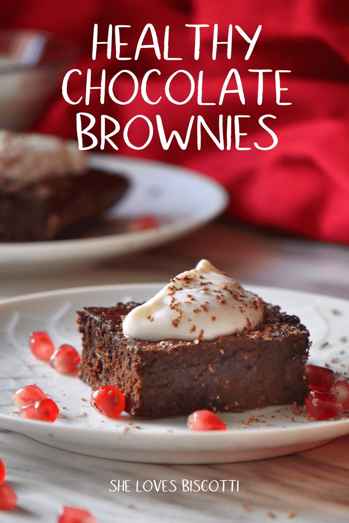 Healthy Chocolate Brownies recipe || Gluten Free Brownies || Date Brownies #brownies  #oatflour #healthybrownies #healthyrecipes #healthydessert #healthytreats #Pomegranate #ValentinesDay #datebrownies #ricotta